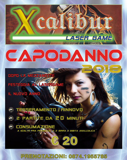 Capodanno all'Xcalibur!